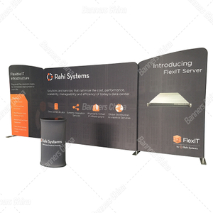 20ft Straight Tension Fabric Trade Show Displays