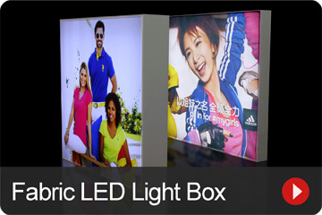 Fabric LED Light Box 02